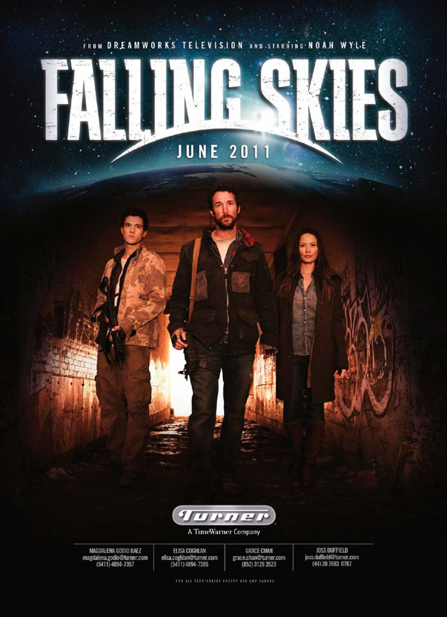 Summer Sci-Fi Alert! TNT's Falling Skies Two Hour Premiere ...