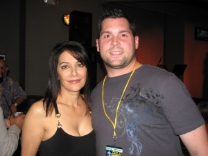 A Very Non-Plussed (Perhaps, Terrified) Marina Sirtis (Star Trek: The Next Generation) and Myself, 2008
