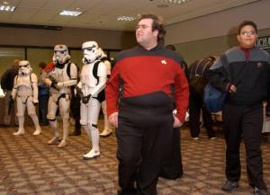 """That bastard Abrams even brought his f*cking Stormtroopers with him to MY Convention! Where is he?!"""